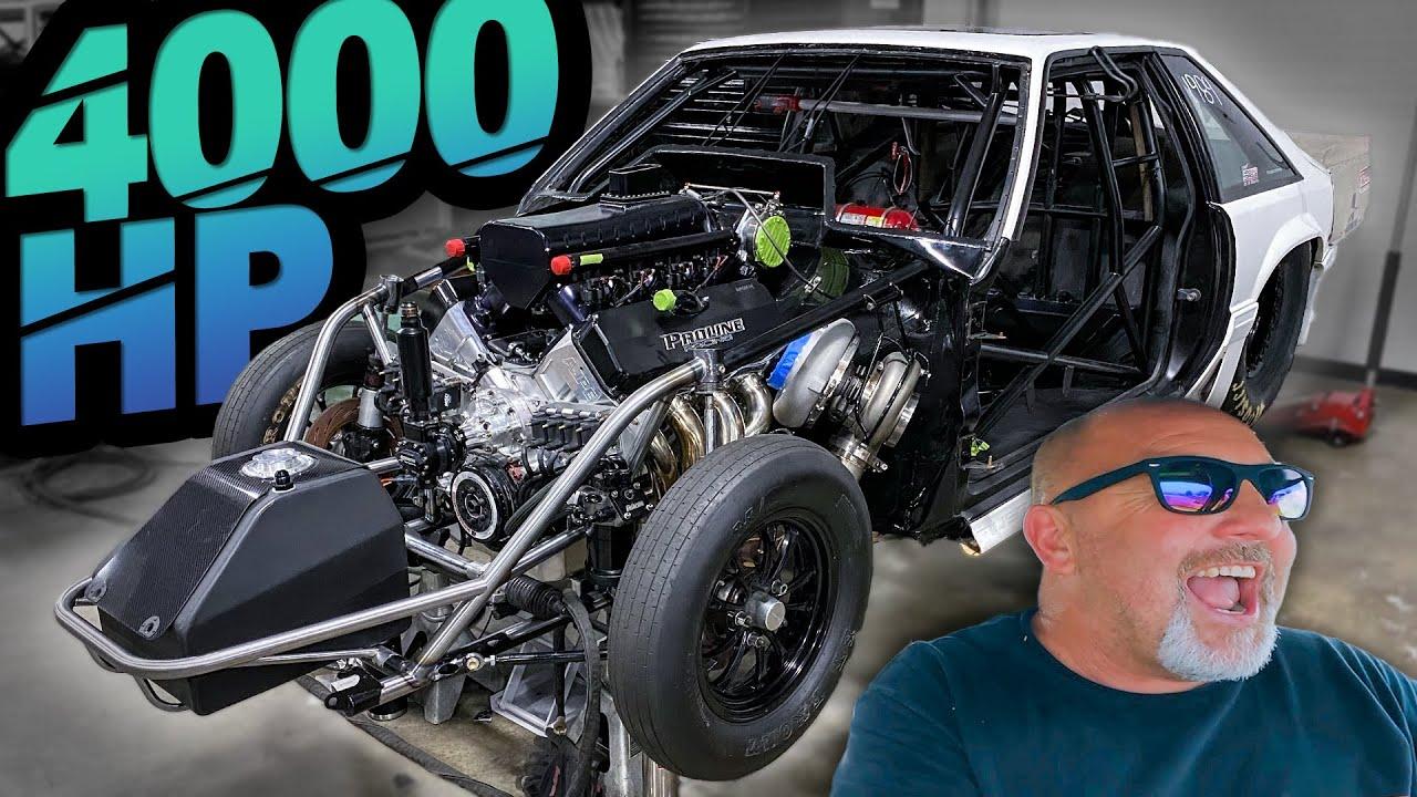 Chuck's New 4000HP No Prep Kings Build - Street Outlaw Garage Tour (Honda, Domestics, and Boat!)