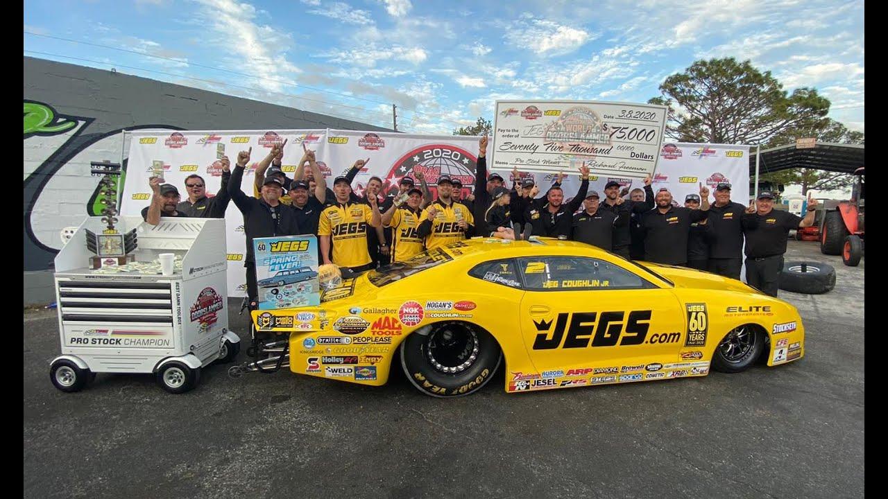 Jeg Coughlin JR WINNER $$ 75,000 $$🏁Drag Illustrated World Doorslammer Nationals Orlando Speed World