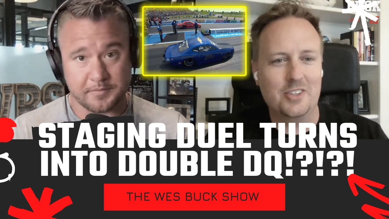 STAGING DUEL TURNS INTO DOUBLE DQ?!?!?!! The Wes Buck Show - 8.18.2021
