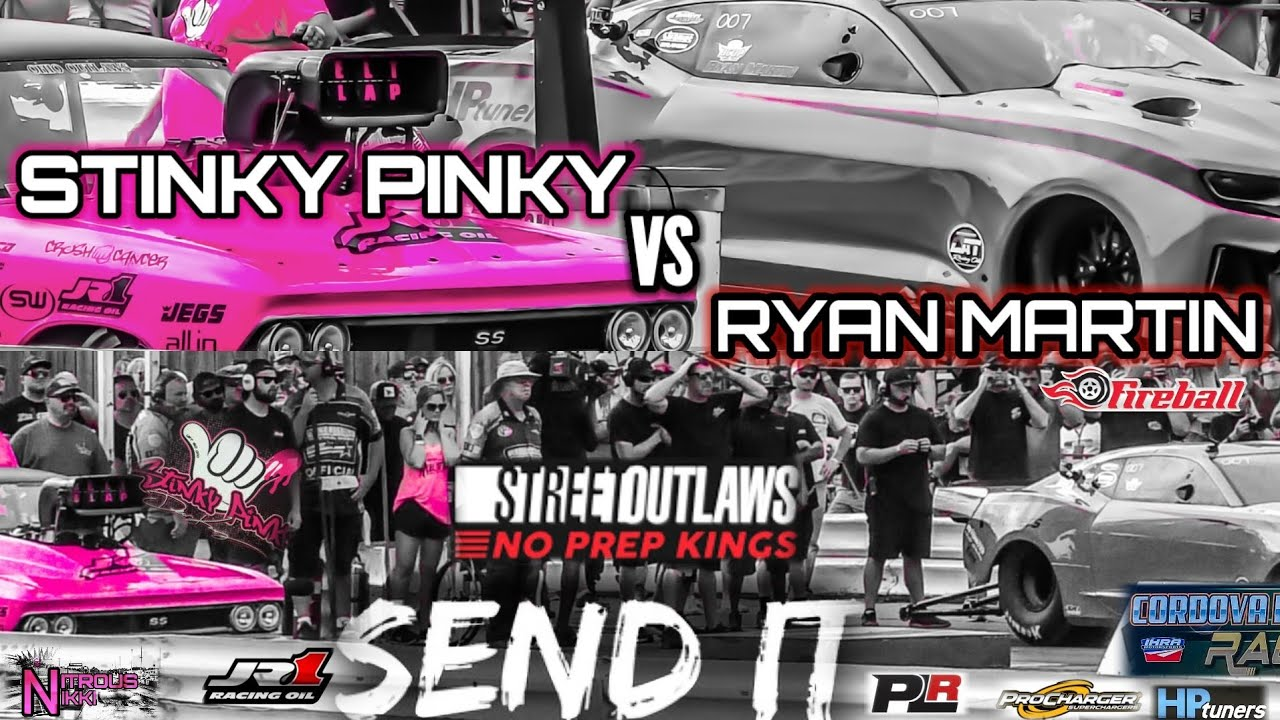 STREET OUTLAWS NO PREP KINGS RYAN MARTIN VS STINKY PINKY DEAN KARNS!+BONUS MONZA VS SCOTT TAYLOR