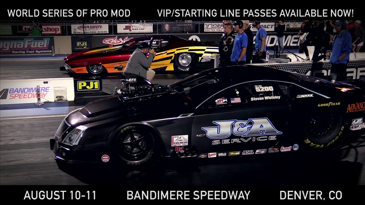 The Biggest, Richest Pro Mod Drag Race in the History of the Known Universe!
