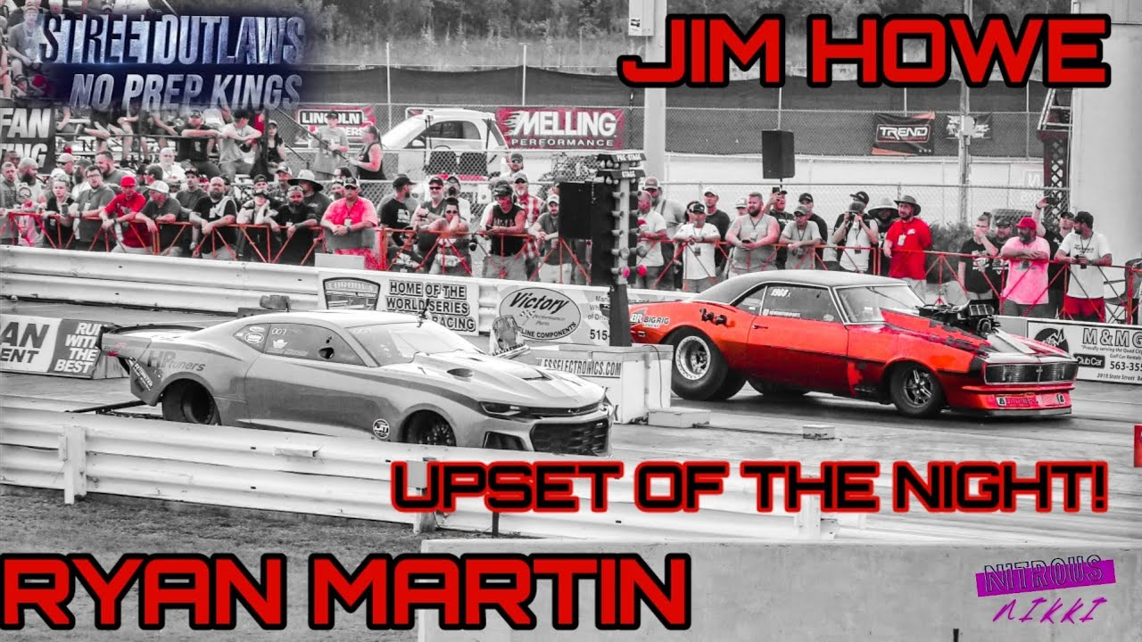 UPSET OF THE NIGHT!!NO PREP KING CHAMP RYAN MARTIN GETS TAKEN OUT BY SMALL TOWN JIM HOWE!!!