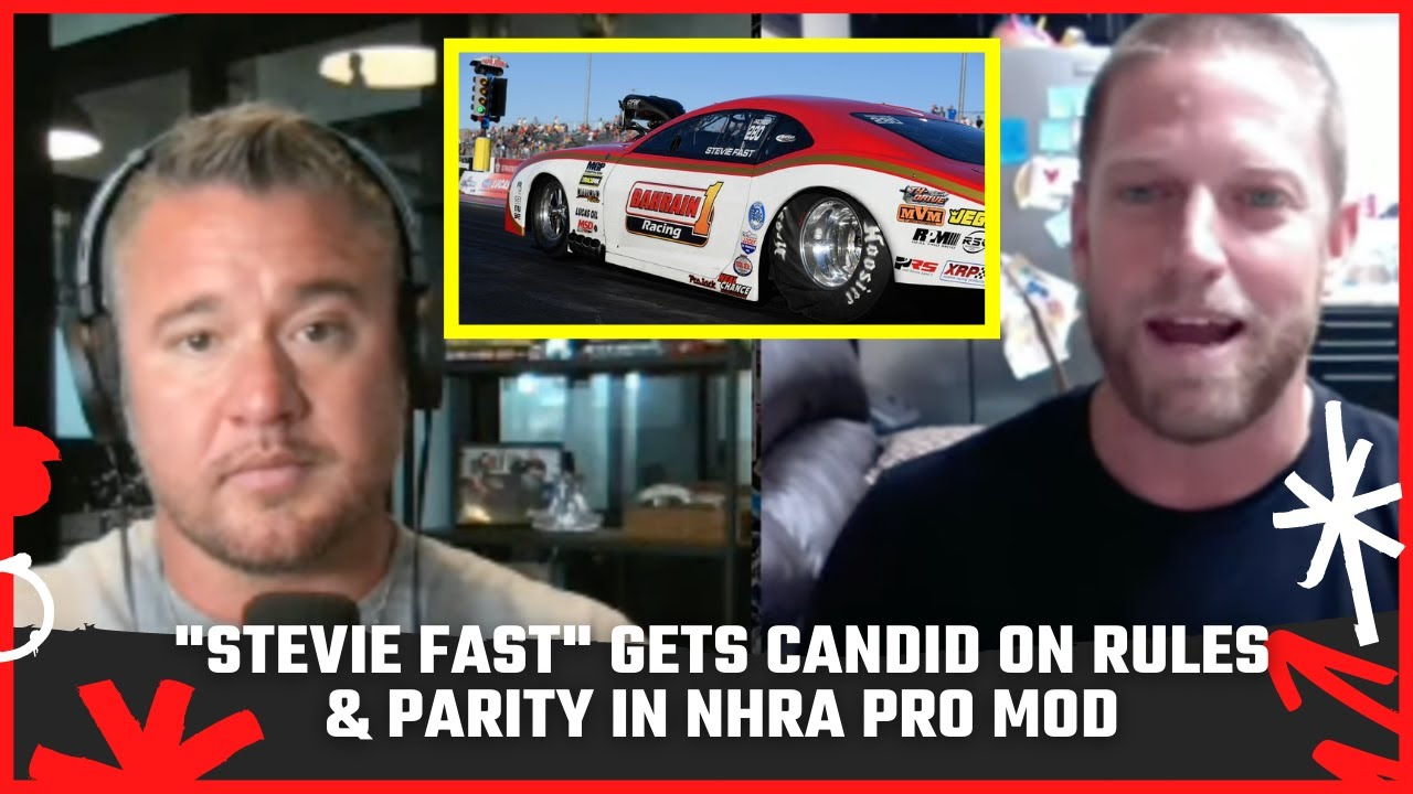 """""""Stevie Fast"""" Gets Candid on Rules & Parity in NHRA Pro Mod   The Wes Buck Show"""