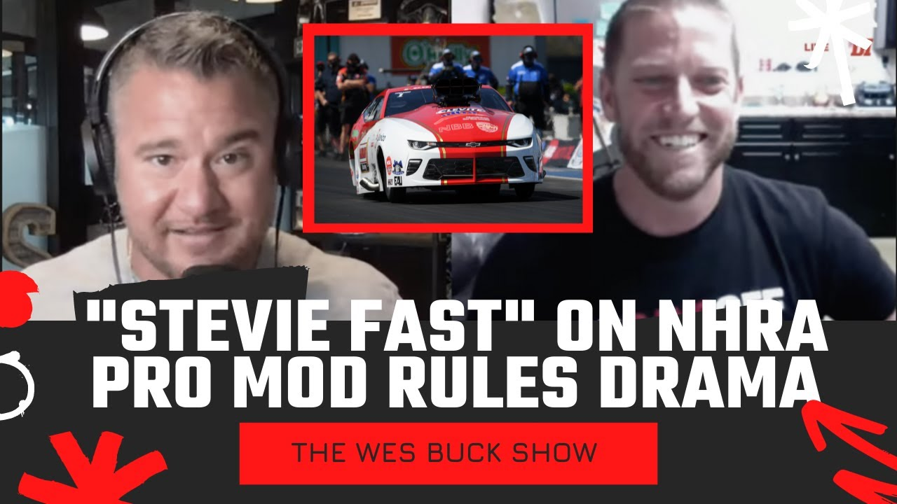 """""""Stevie Fast"""" Jackson Dishes on NHRA Pro Mod Car Count & Rules   WBS Ep. 221"""
