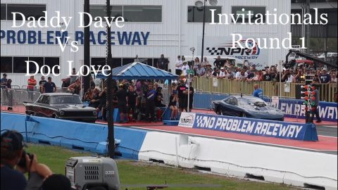 Street outlaws No prep kings; Belle Rose, LA- Daddy Dave vs Doc. Invitationals Round 1