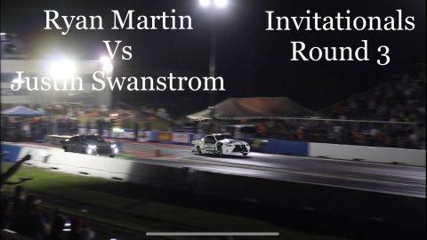Street outlaws no prep kings Belle Rose, LA: Ryan Martin vs Justin Swanstrom. Invitationals Round 3