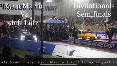 Street outlaws no prep kings Belle Rose, LA: Ryan Martin vs Jeff Lutz: Semifinals