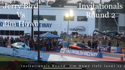 Street outlaws no prep kings Belle Rose, LA: Jerry Bird Vs Jim How- invitationals Round 2