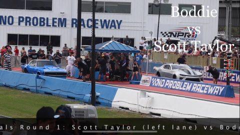 Street outlaws no prep kings Belle Rose, LA- Scott Taylor vs Boddie: Invitationals Round 1