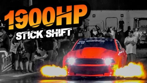 1900HP Stick Shift Mustang - WORLDS FIRST 6-Second Manual Domestic! (Factory Ford Block)