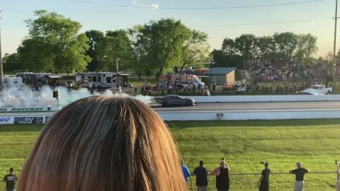 1st Street Outlaws No Prep Kings Race at National Trail