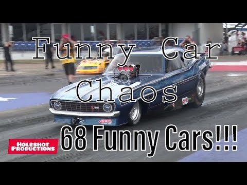 68 Funny Cars FCC 2021. 1/8 mile Round by Round In Full!!! Hd