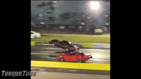 @BuckNasty2.0 Scary Mustang Crash At NPK Invitational - Ennis, TX