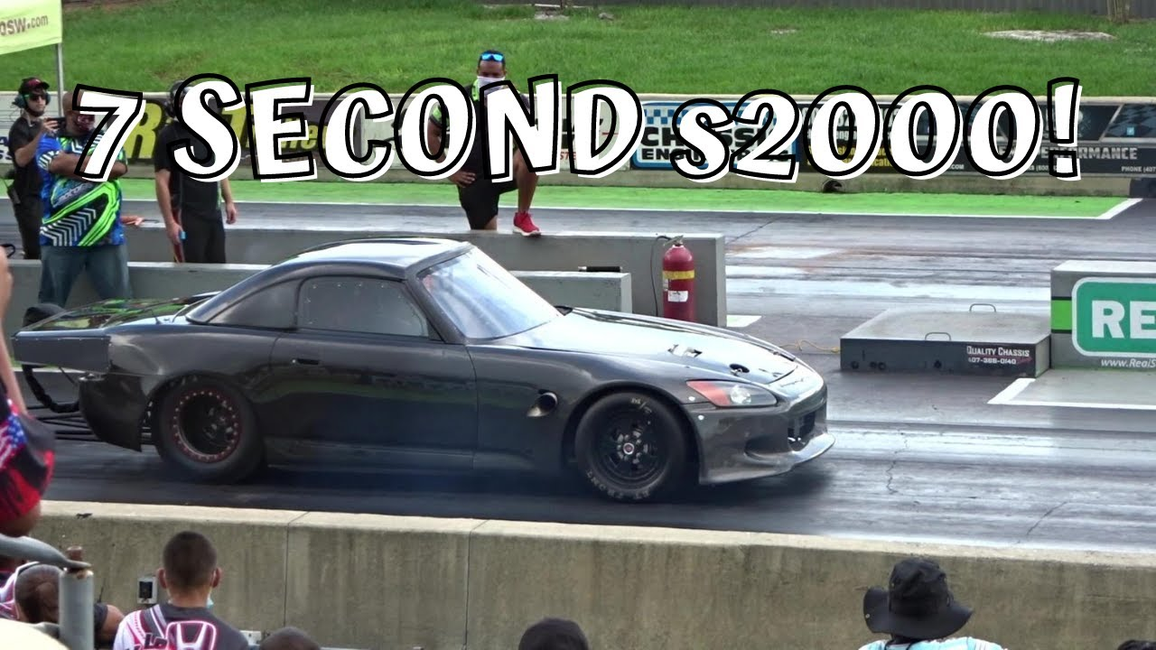 ALMOST STRUCK BY LIGHTNING!! Non-Stop Drag Racing and more..   Orlando Speed World Summer Nationals