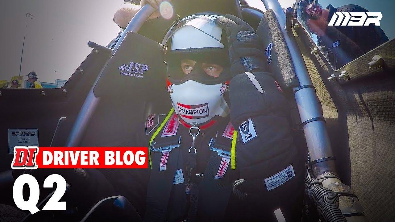 Behind the Ropes - Up in Smoke (Pt. 2 of the 2017 NHRA Carolina Nationals Driver Blog - Q2)
