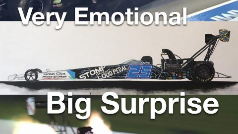 Biggest Surprise Ever At The Race Track.