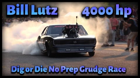 Bill Lutz First Dig or Die No Prep Grudge Race