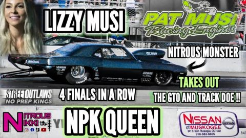 CLOSER LOOK AT THE HOTTEST THING ON THE NPK TOUR! THE QUEEN OF NO PREP KINGS LIZZY MUSI