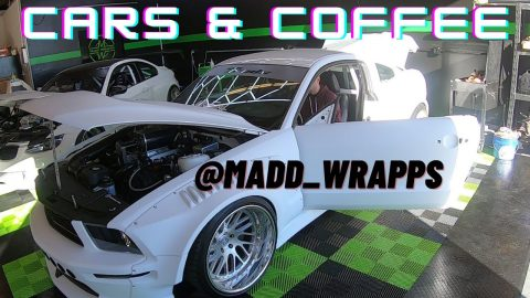 Cars & Coffee @ Madd Wrapps 2021