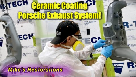 Ceramic Coating for Porsche Exhaust System!