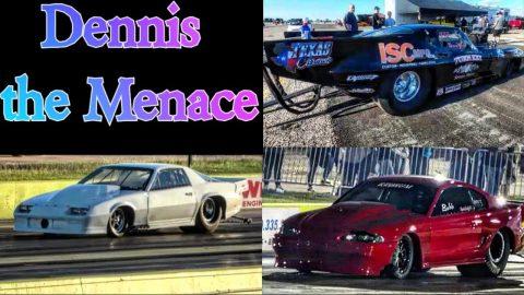 Dennis Da Menace vs Bobby Ducote in Turbo Mustang!!