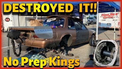 Destroyed it!  Street Outlaws, NPK Virginia Motorsports Park 2021