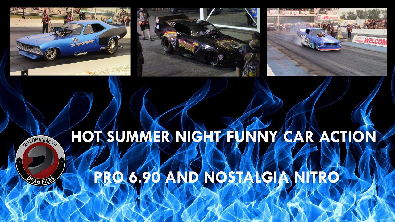 FUNNY CARS AT THE HSN (HOT SUMMER NIGHT (8/14/2021)