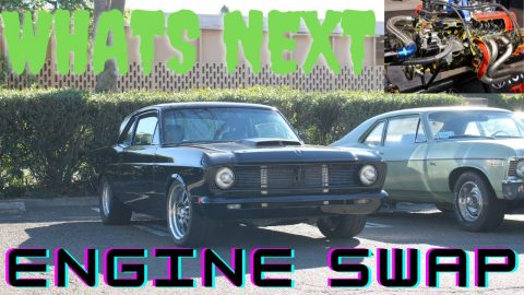 Ford Falcon Engine Swap Update