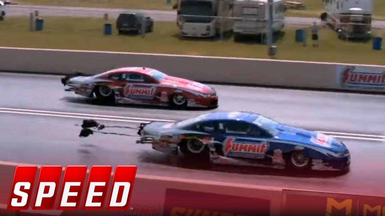 Greg Anderson vs. Jason Line - Norwalk Pro Stock Final - 2016 NHRA Drag Racing Series   SPEED