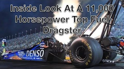 Inside Look At Top Fuel Dragster.