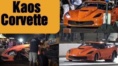 Kaos Corvette in Kaos at Tucson!!