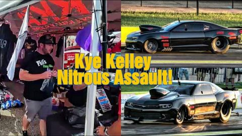 Kye Kelley Brings Nitrous to the Front!!