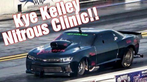 Kye Kelley Nitrous Clinic Display!!