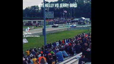 Kye Kelly vs Jerry Bird Grudge Race No Prep Kings Cordova Dragway #shorts