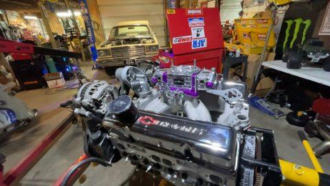 MALIBU ENGINE SPECS!  Progress in the shop, and COUSIN EDDY IS MIA?