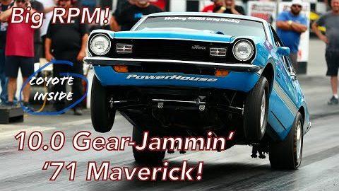 Mega-RPM '71 Maverick Stick-Shift Screamer | Coyote-Swapped NMRA Ford Factory Stocker