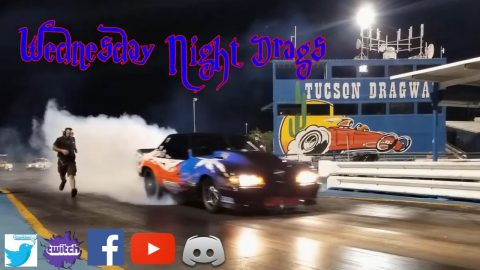 Mike Murillo out testing at Tucson Dragway for No Prep Kings