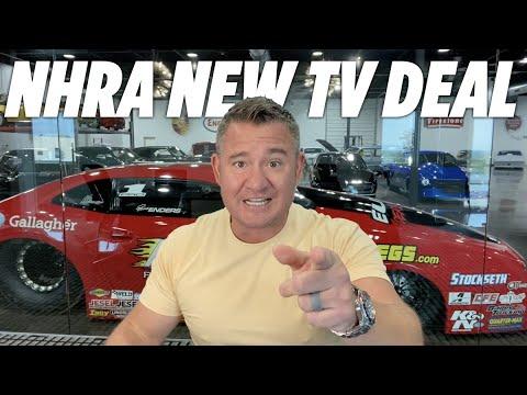 NHRA HAS A NEW TV DEAL?!?!?!