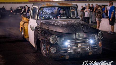 NO PREP KINGS Meets The Getaway Driver Truck Brooklyn Dodger Drag Racing the LS Swapped Mopar
