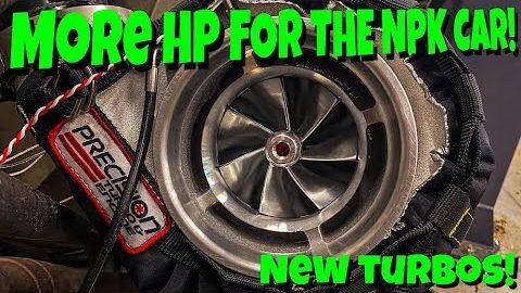 NPK Murder Nova Gets New Turbos...MORE HORESPOWER!