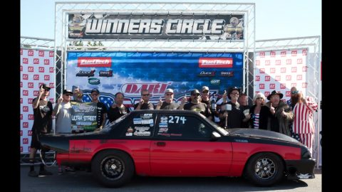 No Mercy 12 | Dave Fiscus takes home $5,000 winning Ultra Street in his Buick V6 Powered Mustang!