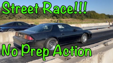No Prep Sketchy Street style Race| The King of Indian valley #camaro #indianvalley #turbols