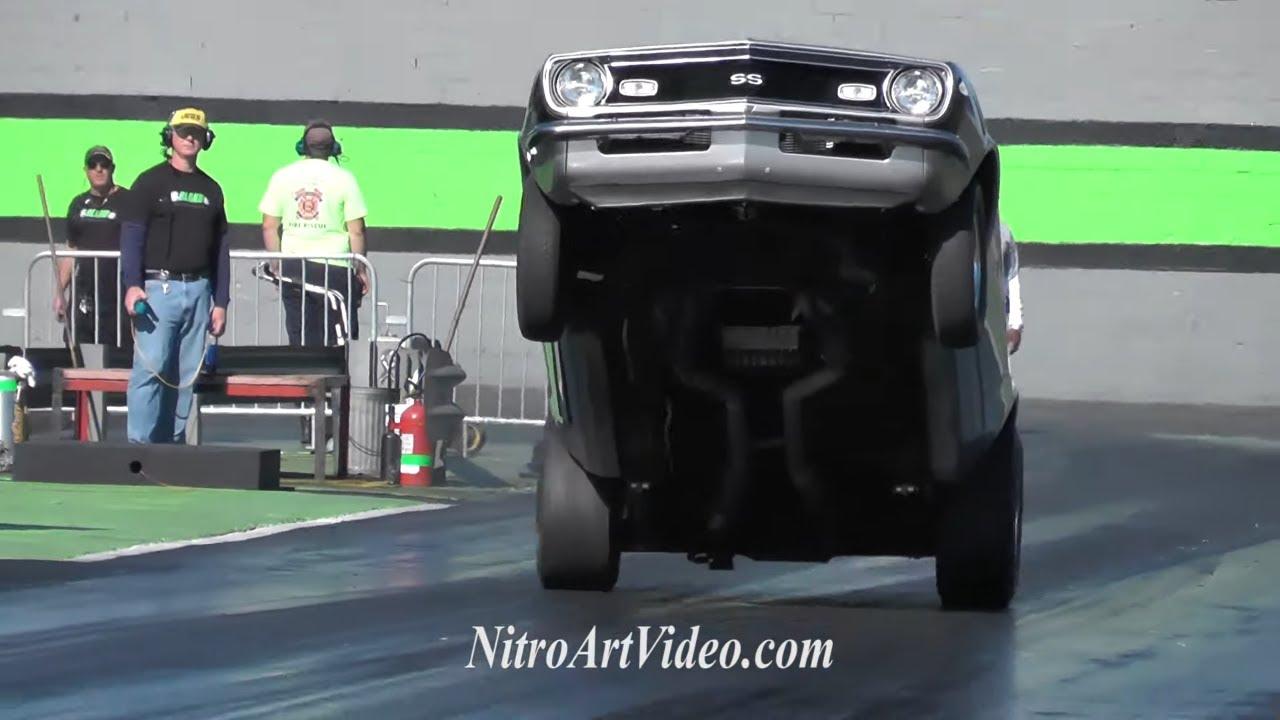Orlando Speed World Dragway Grudge Racing NT Raw Drag Racing Action Part 4of12 2015 No Guts No Glory