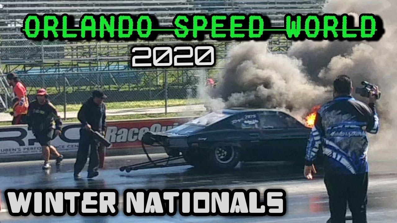 Orlando Speed World Winter Nationals 2020