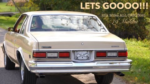 PROJECT MALIBU MOVING FORWARD! Billy The Kids MINT 25k mile Malibu STREETER!
