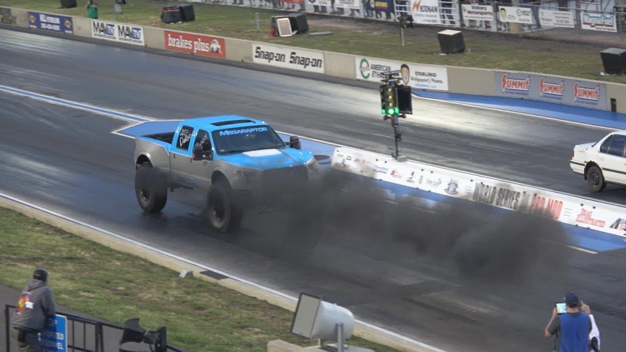 Reverse Drag Racing!   Bandimere Speedway   4K