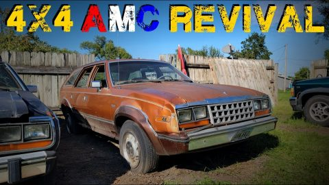 Reviving a FORGOTTEN AMC Eagle - Abandoned to Daily Driver??