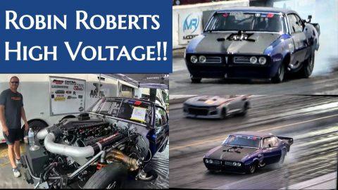 Robin Roberts Twin Turbo Proline Firebird at Darlington!!