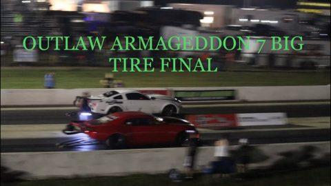 Ryan Martin Vs Kayla Morton - Outlaw Armageddon No prep Big tire final