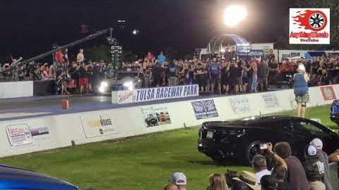 Ryan Martin vs Lizzy Musi No Prep King Finals Tulsa Raceway Park